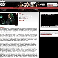 Wes Little photo on Sabian website.