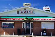 Wades Cafe, Harlowton Montana.