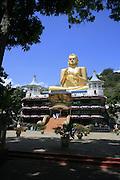Golden Budda statue, Dambulla, Sri Lanka