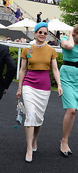 Left, LADY HELEN TAYLOR at the 2nd day of the 2013 Royal Ascot Horseracing festival at Ascot Racecourse, Ascot, Berkshire on 19th June 2013.
