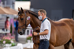 Fredricson Peder, SWE, All In, 387<br /> Olympic Games Tokyo 2021<br /> © Hippo Foto - Dirk Caremans<br /> 31/07/2021