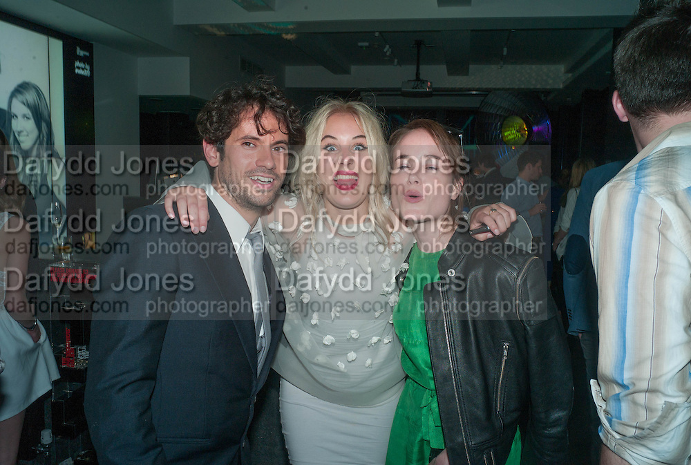 NICK HACKWORTH; NICOLE FITCH; JULIA HOBBS, TPG Contemporaries Party. Photographers' Gallery. Ramillies St. London. 19 June 2013