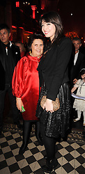 Left to right, SUZY MENKES and DAISY LOWE at a Celebration of 10 Years of IHT Luxury Conferences during the International Herald Tribune Heritage Luxury Conference held at One Mayfair, 13 1/2 North Audley Streer, London on 9th November 2010.