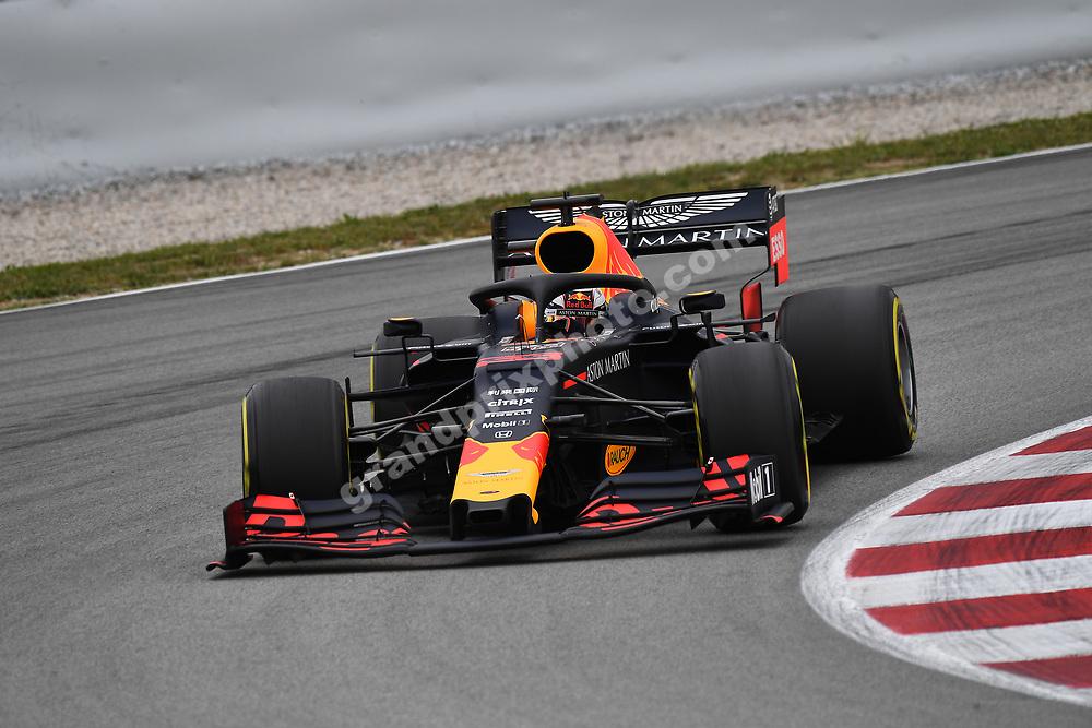Max Verstappen (Red Bull-Honda) during practice for the 2019 Spanish Grand Prix at the Circuit de Barcelona-Catalunya. Photo: Grand Prix Photo