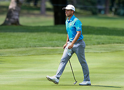 August 3, 2018 - Akron, Ohio, United States - Xander Schauffele on the fairway during the second round of the WGC-Bridgestone Invitational at Firestone Country Club. (Credit Image: © Debby Wong via ZUMA Wire)