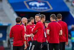 NICE, FRANCE - Wednesday, June 2, 2021: Wales' captain Gareth Bale before an international friendly match between France and Wales at the Stade Allianz Riviera ahead of the UEFA Euro 2020 tournament. (Pic by Simone Arveda/Propaganda)