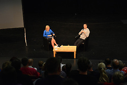 England Womens manager, Mark Sampson takes part in a Q and A before the Bristol Academy Game against Birmingham City Ladies  - Mandatory byline: Dougie Allward/JMP - 07966386802 - 05/09/2015 - FOOTBALL - SGS Wise Campus -Bristol,England - Bristol Academy Womens v Birmingham City Ladies - FA Womens Super League