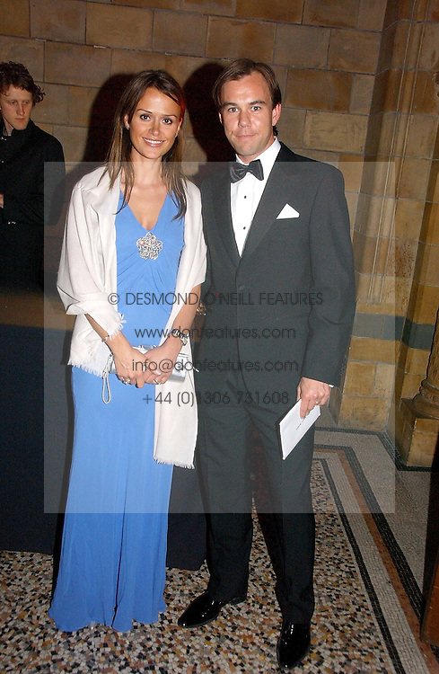 MR & MRS KARL-JOHAN PERSSON their family own the H&M fashion stores at a gala dinner in the presence of HM Quenn Silvia of Sweden and HM Queen Noor of Jordan in aid of the charity Mentor held at the Natural History Museum, Cromwell Road, London on 23rd May 2006.<br /><br />NON EXCLUSIVE - WORLD RIGHTS