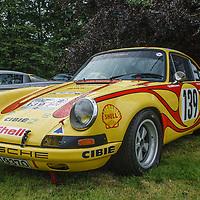 Porsche 911 S/T Larrousse 1970 Tour de France on 20/07/2019, at Rennsport Collective, Donington Hall, Leicestershire, UK,