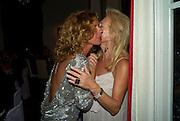 VIOLETTE CAPROTTI; EVA O'NEILL, Christie's Gala. Casa Austria.  Amadeus Weekend. Salzburg. 22 August 2008.  *** Local Caption *** -DO NOT ARCHIVE-© Copyright Photograph by Dafydd Jones. 248 Clapham Rd. London SW9 0PZ. Tel 0207 820 0771. www.dafjones.com.