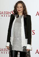 Marion Cotillard, Assassin's Creed - London Photocall, Claridge's, London UK, 08 December 2016, Photo by Brett D. Cove