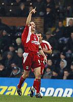Photo: Paul Thomas.<br /> Fulham v Leyton Orient. The FA Cup. 08/01/2006.