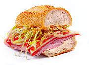 A submarine sandwich at Vinaigrette in downtown Miami