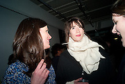 RACHEL MILLWARD; IMOGEN HEAP- BIRDS EYE VIEW INTERNATIONAL WOMEN'S DAY  RECEPTION, BFI Southbank. London. 8 March 2012.