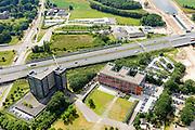 Nederland, Noord-Brabant, Rosmalen, 26-06-2014;  hoofdkantoor van Heijmans N.V. A2 en Maximakanaal.<br /> luchtfoto (toeslag op standaard tarieven);<br /> aerial photo (additional fee required);<br /> copyright foto/photo Siebe Swart.