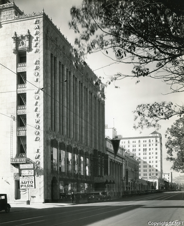 1930 El Capitan Theater on Hollywood Blvd.