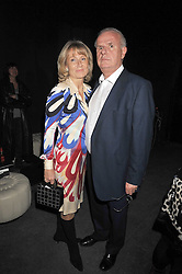 PAUL MYNERS and his wife ALISON at the Prada Congo Art Party hosted by Miuccia Prada and Larry Gagosian at The Double Club, 7 Torrens Street, London EC1 on 10th February 2009.