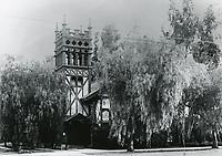 1912 St Stephens Episcopal Church on SE corner of Hollywood Blvd. & Ivar St.