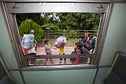Estimates suggest that at least 150,000 migrants from Cambodia were working in Thailand before the exodus in June, 2014.<br /> <br /> Fearing a crackdown on illegal immigration from the Thai military, over 120,000 Cambodian migrants crossed the border and returned to Cambodia in one week.<br /> <br /> Thai Immigration Police met migrants at the railway station in the border town of Aranyaprathet, recorded their identities and accompanied them to the border crossing.