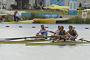 Eton Dorney, Windsor, Great Britain,<br /> <br /> 2012 London Olympic Regatta, Dorney Lake. Eton Rowing Centre, Berkshire.  Dorney Lake.   <br /> <br /> Final, Men's Pair GBR M2- Bow George NASH and Will SATCH and NZL M2-, Bow Eric MURRAY and Hamish BOND<br /> <br />  11:56:45  {DOW]  {DATE}    [Mandatory Credit: Peter Spurrier/Intersport Images]