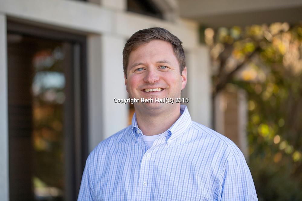 Professional head shot of John Langham in Fayetteville, Arkansas.