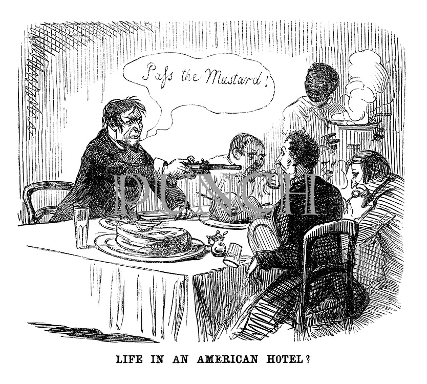 """Life in an American Hotel? """"Pass the Mustard!"""""""
