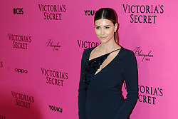 Shiva Safal attending the Pink Carpet prior to the Victoria's Secret Fashion Show at the Mercedes-Benz Arena Shanghai in Shanghai, China.