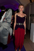 JACQUETTA WHEELER, The Surrealist Ball in aid of the NSPCC. Hosted by Lucy Yeomans and Harry Blain. Banqueting House. Whitehall. 17 March 2011. -DO NOT ARCHIVE-© Copyright Photograph by Dafydd Jones. 248 Clapham Rd. London SW9 0PZ. Tel 0207 820 0771. www.dafjones.com.