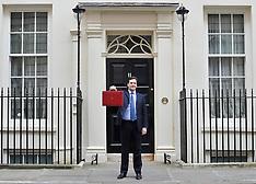 George Osborne Budget Day