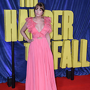 """Julia Hurley attended """"The Harder They Fall"""" Opening Night Gala - 65th BFI London Film Festival, Southbank Centre, London, UK. 6 October 2021."""
