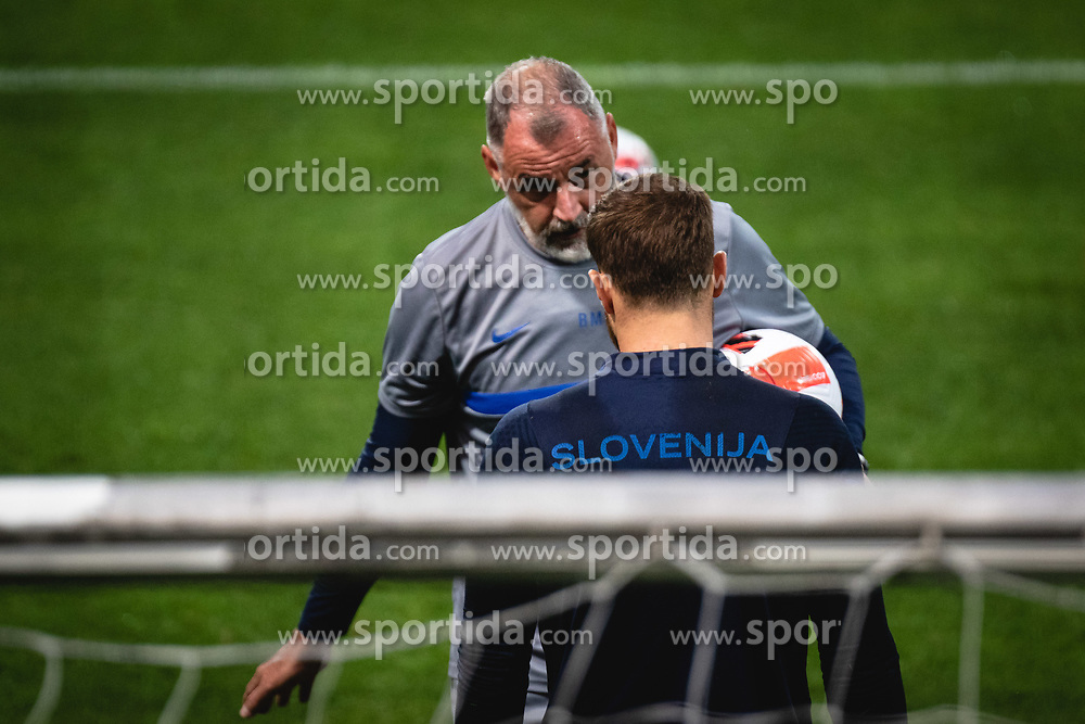 during practice session of Slovenian national team prior to world cup 2022 qualifiers, on 5 of October, 2021 in Ljudski Vrt, Maribor, Slovenia. Photo by Blaž Weindorfer / Sportida