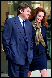 Rebekah and her husband Charlie Brooks leave Westminster Magistrates Court, Wednesday June 13, 2012.Photo by Andrew Parsons/i-Images..All Rights Reserved ©Andrew Parsons/i-Images .See Special Instructions