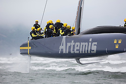 Day two practice Artemis Racing. 24th of July, 2013, Alameda, USA