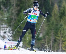 02.03.2019, Seefeld, AUT, FIS Weltmeisterschaften Ski Nordisch, Seefeld 2019, Nordische Kombination, Langlauf, Team Bewerb 4x5 km, im Bild Hideaki Nagai (JPN) // Hideaki Nagai of Japan during the Cross Country Team competition 4x5 km of Nordic Combined for the FIS Nordic Ski World Championships 2019. Seefeld, Austria on 2019/03/02. EXPA Pictures © 2019, PhotoCredit: EXPA/ Stefan Adelsberger