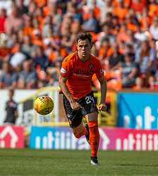 Dundee United's Lawrence Shankland. Dundee United 4 v 1 Inverness Caledonian Thistle, first Scottish Championship game of season 2019-2020, played 3/8/2019 at Tannadice Park, Dundee.