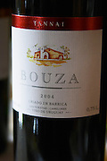 Tannat 2004 Barrel aged las Violetas Canelones Bodega Bouza Winery, Canelones, Montevideo, Uruguay, South America