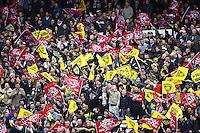 Ambiance Derby - 28.03.2015 - Begles Bordeaux / La Rochelle - 21eme journee de Top 14<br />Photo : Manuel Blondeau / Icon Sport