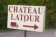 Chateau Latour, Pauillac, Medoc, Bordeaux, France