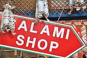 Salami Shop Photographed in Budapest, Hungary
