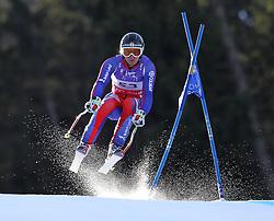 10.02.2011, Kandahar, Garmisch Partenkirchen, GER, FIS Alpin Ski WM 2011, GAP, Herren Abfahrtstraining, im Bild TJ Baldwin (GBR) takes to the air competing in the first men's downhill training run on the Kandahar race piste at the 2011 Alpine skiing World Championships, EXPA Pictures © 2011, PhotoCredit: EXPA/ M. Gunn