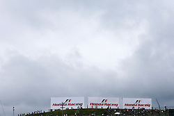 Dark clouds over the circuit.<br /> 08.10.2016. Formula 1 World Championship, Rd 17, Japanese Grand Prix, Suzuka, Japan, Qualifying Day.<br /> Copyright: Moy / XPB Images / action press