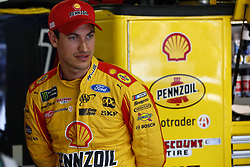 July 21, 2018 - Loudon, New Hampshire, United States of America - Joey Logano (22) prepares to take to the track for final practice for the Foxwoods Resort Casino 301 at New Hampshire Motor Speedway in Loudon, New Hampshire. (Credit Image: © Justin R. Noe Asp Inc/ASP via ZUMA Wire)