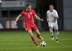 NEWPORT, WALES - Tuesday, October 16, 2018: Wales' Rhys Norrington-Davies in action during the UEFA Under-21 Championship Italy 2019 Qualifying Group B match between Wales and Switzerland at Rodney Parade. (Pic by Laura Malkin/Propaganda)