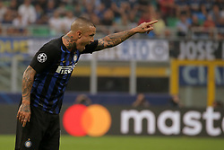 September 18, 2018 - Milan, Milan, Italy - Radja Nainggolan #14 of FC Internazionale Milano during  the UEFA Champions League group B match between FC Internazionale and Tottenham Hotspur at Stadio Giuseppe Meazza on September 18, 2018 in Milan, Italy. (Credit Image: © Giuseppe Cottini/NurPhoto/ZUMA Press)
