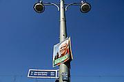 Duitsland, 22-8-2009Verkiezingsaffiche voor de SPD, lijsttrekker strobele, op een lantaarnpaal in Berlijn.Foto: Flip Franssen/Hollandse Hoogte
