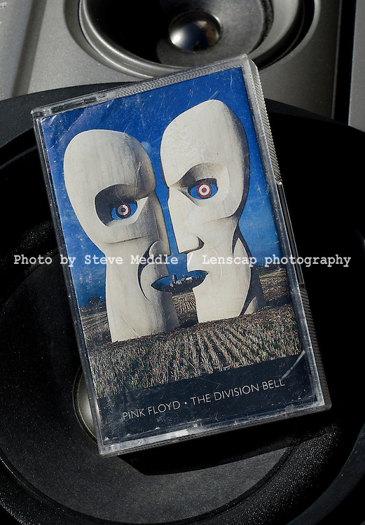 The Division Bell, Pink Floyd's fourteenth and last studio album, On Audio Cassette, Released in March 1994..