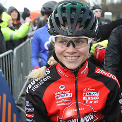 14-12-2019: Wielrennen: DVV trofee veldrijden: Ronse: Laura Verdonschot