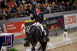 FAURIE Emile (GBR), Delatio<br /> Neumünster - VR Classics 2018<br /> FEI World Cup Dressage Qualifikation, Grand Prix de Dressage<br /> © www.sportfotos-lafrentz.de/Stefan Lafrentz