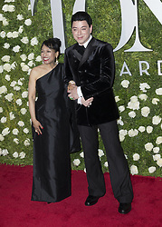 June 11, 2017 - New York, New York, United States - Baayork Lee in Malan Breton dress and designer Malan Breton attend Tony awards 2017 at Radio City Music Hall (Credit Image: © Lev Radin/Pacific Press via ZUMA Wire)