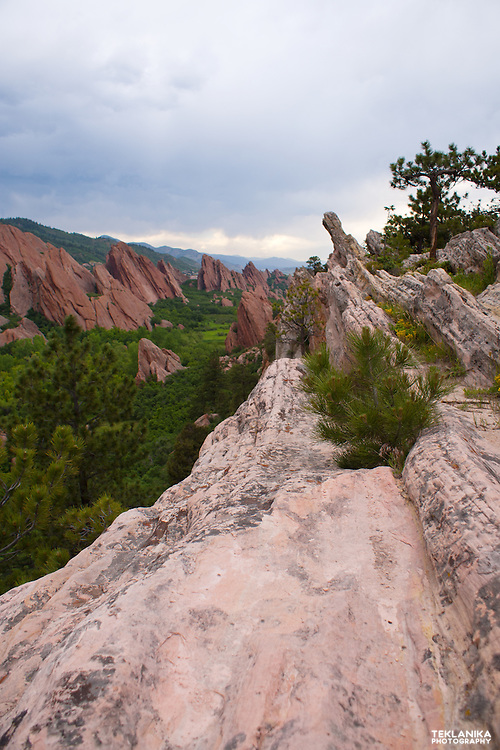 Colorado's beautiful Roxborough State Park.